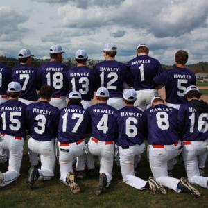 Baseball team in Hawley jersey's