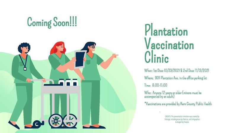 Plantation Vaccination Clinic Thumbnail Image