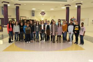 Jr. Beta Club Members Bring Home Host of Awards From State Convention