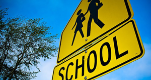School Traffic Zone Reminders