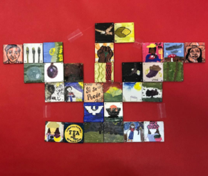 student art work from Cesar Chavez Day