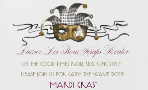 March 9 | Catch the Wave 2019 Mardi Gras - Click to buy tickets Thumbnail Image
