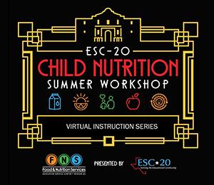 ESC-20 Child Nutrition Summer Workshop Logo
