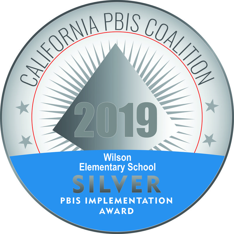 Wilson Elementary School Is now A SILVER Award CA PBIS Coalition Award Winning School! Featured Photo