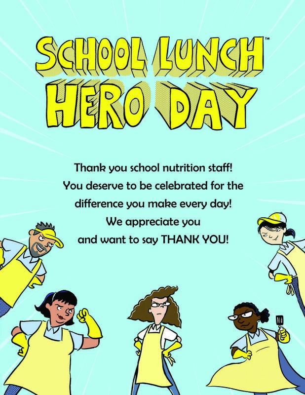 super hero day poster