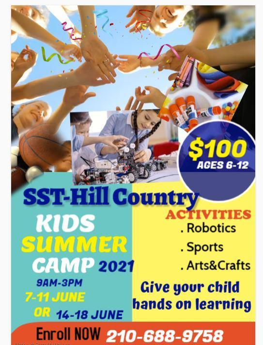 SST Hill Country Kids Summer Camp 2021 Featured Photo