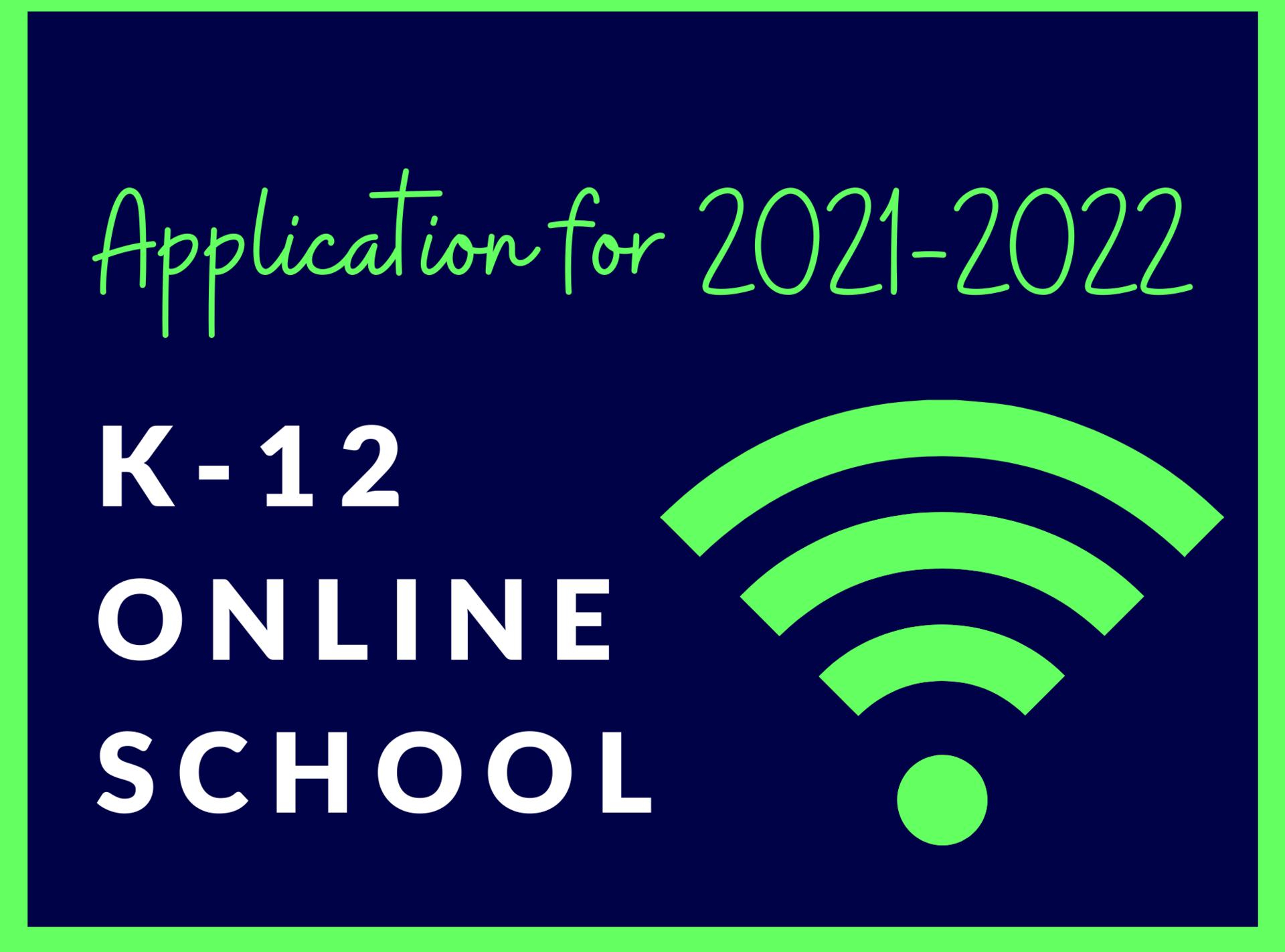 2021-2022 Online Applicatoin