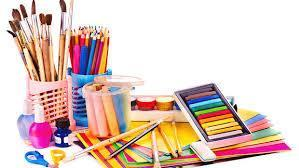 picture of art supplies
