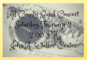 All County Band Concert