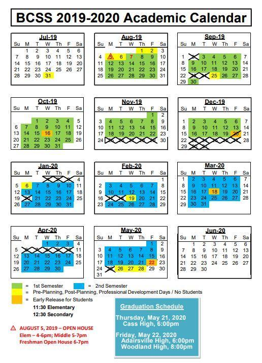 **UPDATED | 2019 - 2020 BCSS Calendar Featured Photo