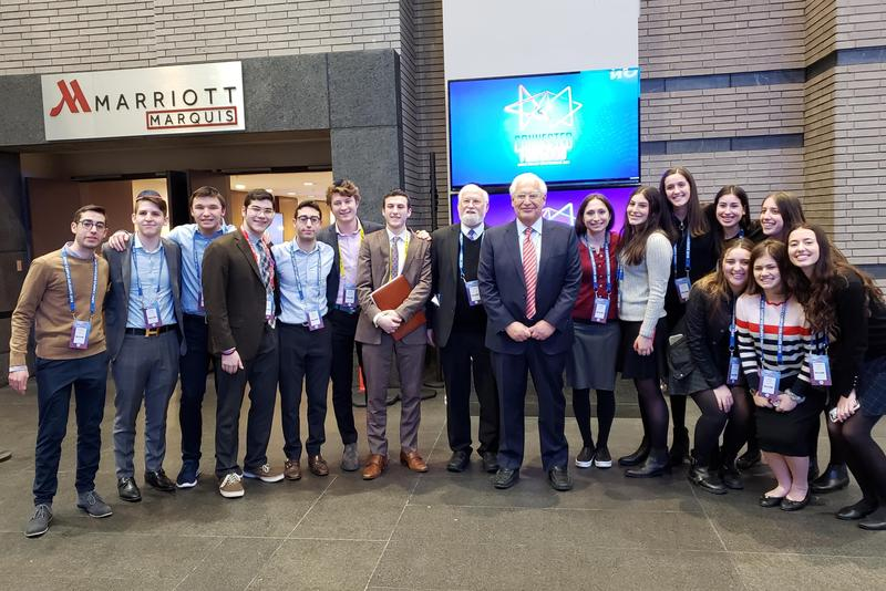 HAFTR Students Attend AIPAC Conference and Meet with Ambassador Friedman Featured Photo