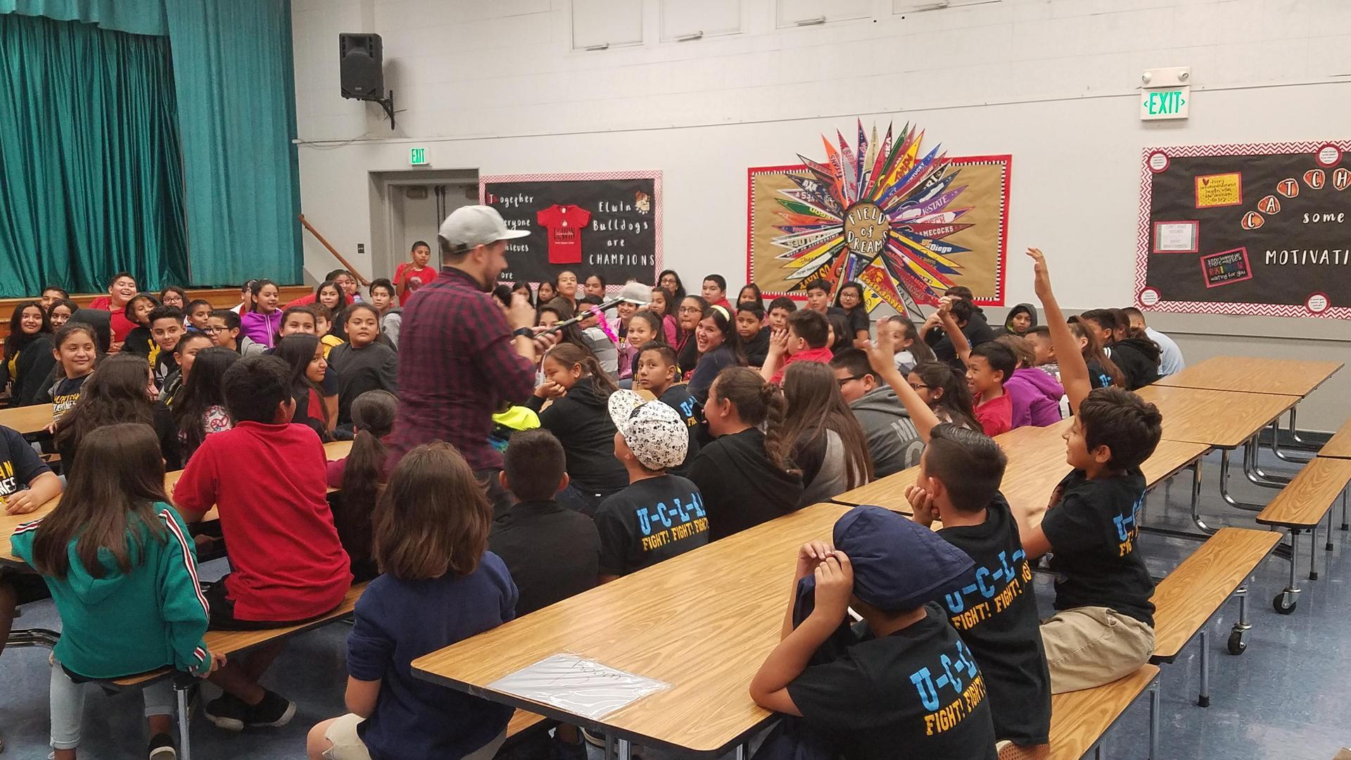 photo of Josh Drean assembly