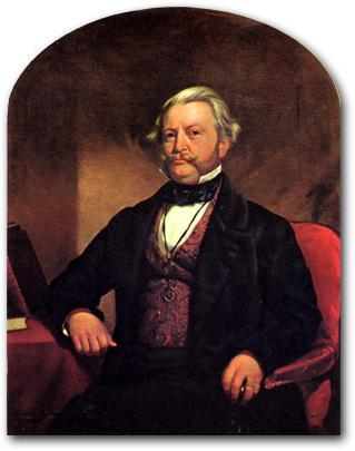 Townsend Harris portrait