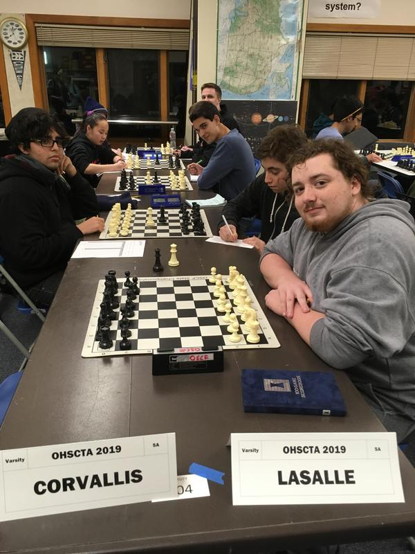chess team competes at state