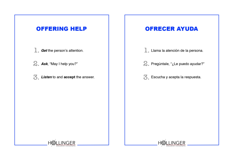Project RESSPECT: Offering Help/Ofrecer Ayuda