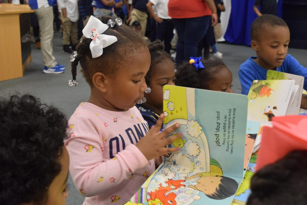Students Receive Free Books