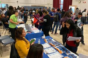 Evans Community Adult School Health Fair