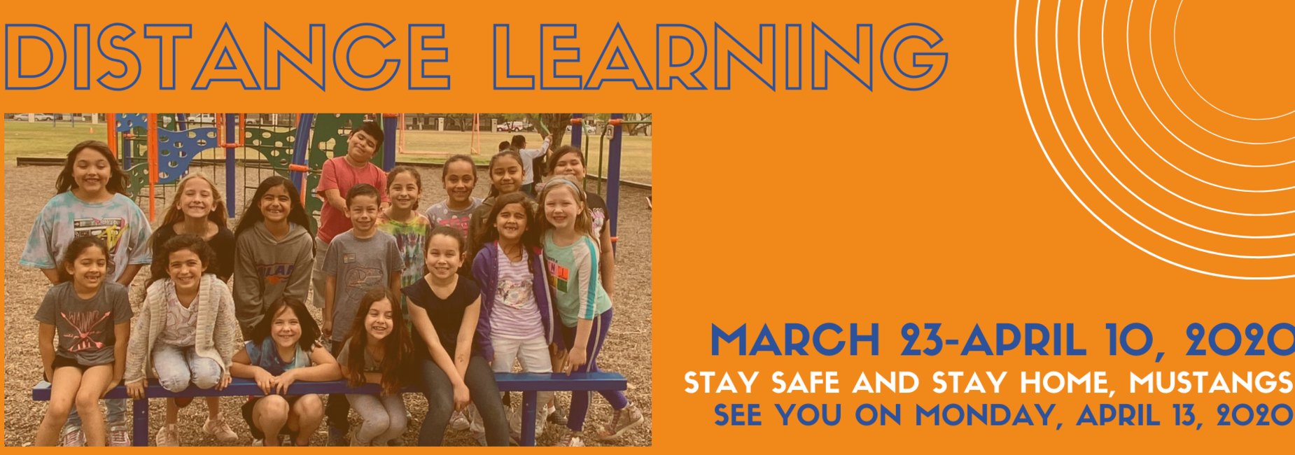 Distance Learning, March 23-April 10, 2020
