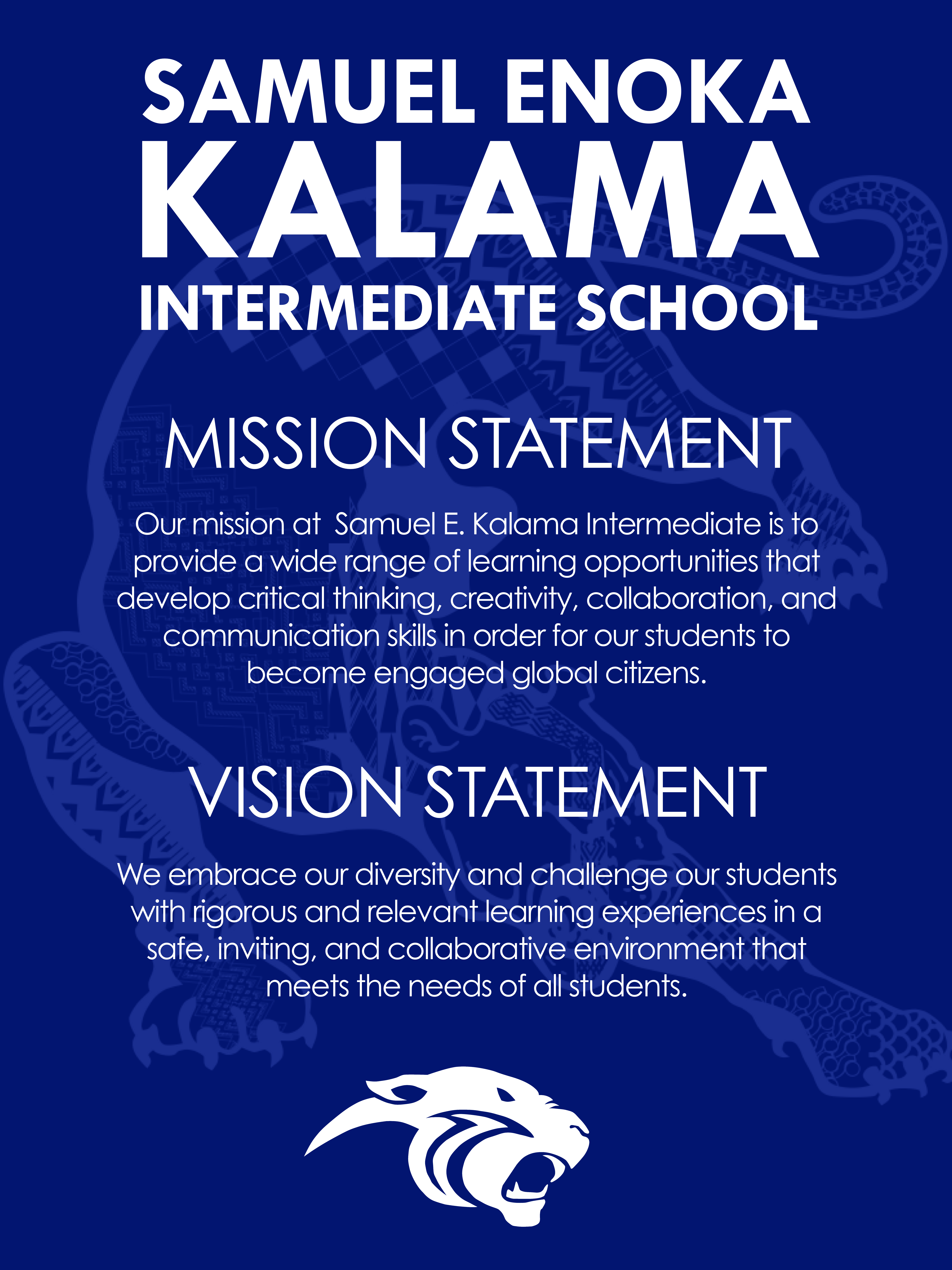 mission statement and vision statement