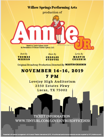 Tickets for Annie