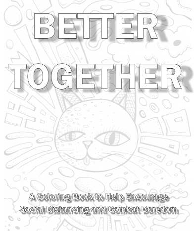Better Together coloring book cover