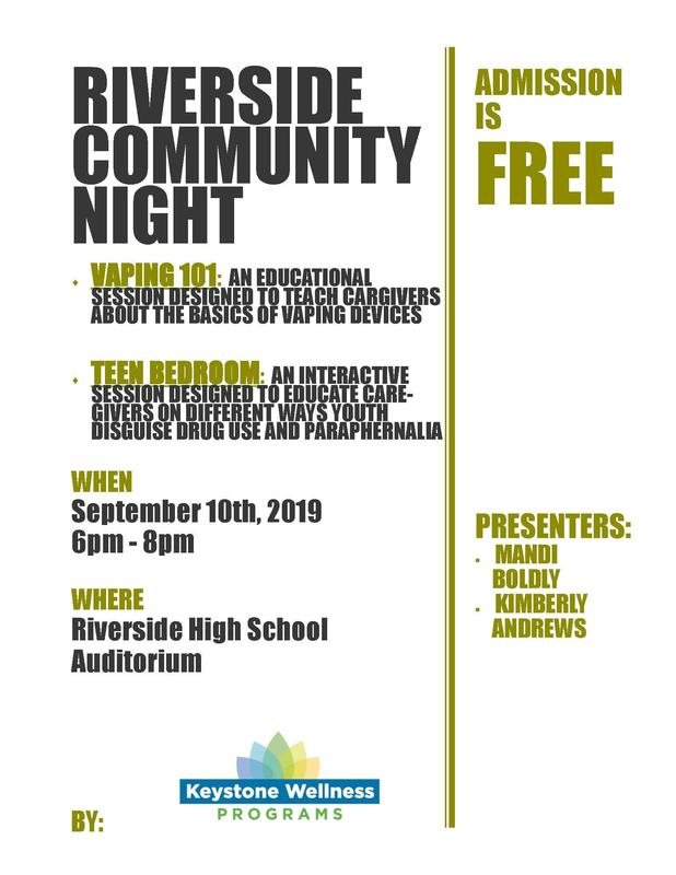 Riverside Community Night - Parents You Don't Want to Miss This! Featured Photo
