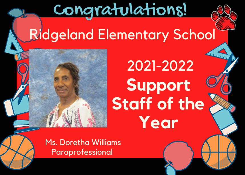 RES Support Staff of the Year