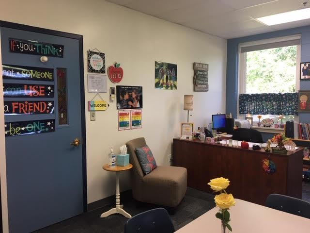 The School Counseling office is a safe, calm space available for all students.