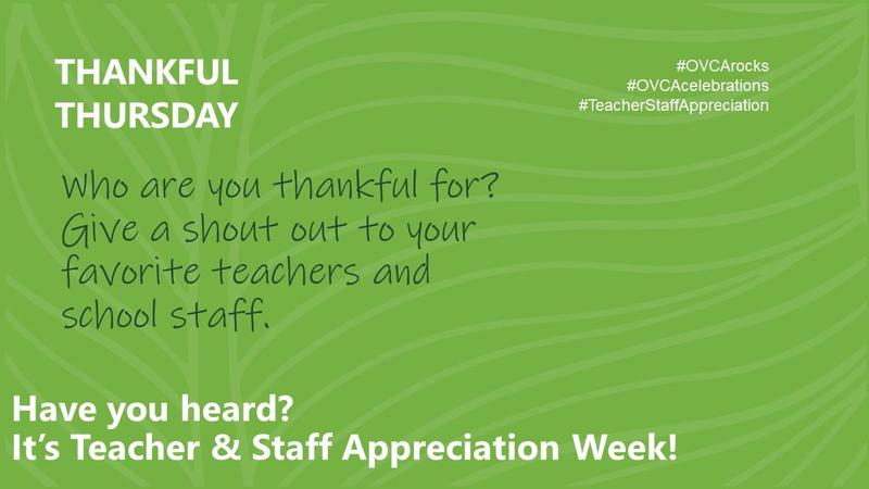 Teacher & Staff Appreciation: Thankful Thursday Featured Photo