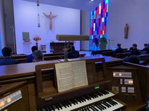 The Xavier Chapel, October 2020 Mass