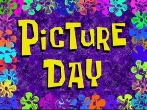 picture day with purple background