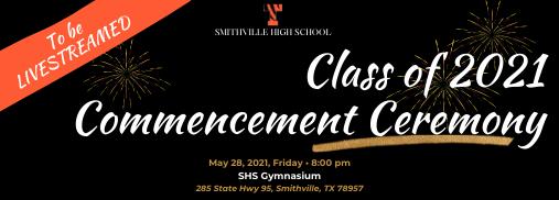 SHS Class of 2021 Graduation Information