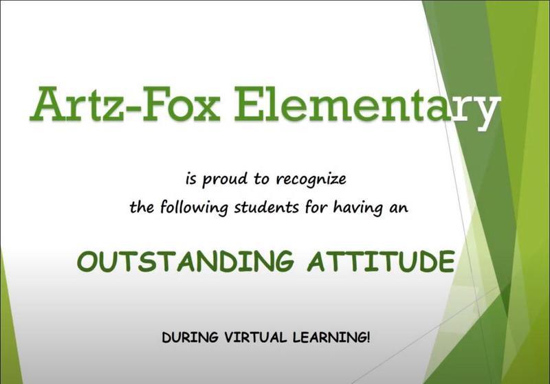 Artz-Fox Elementary CARES Awards