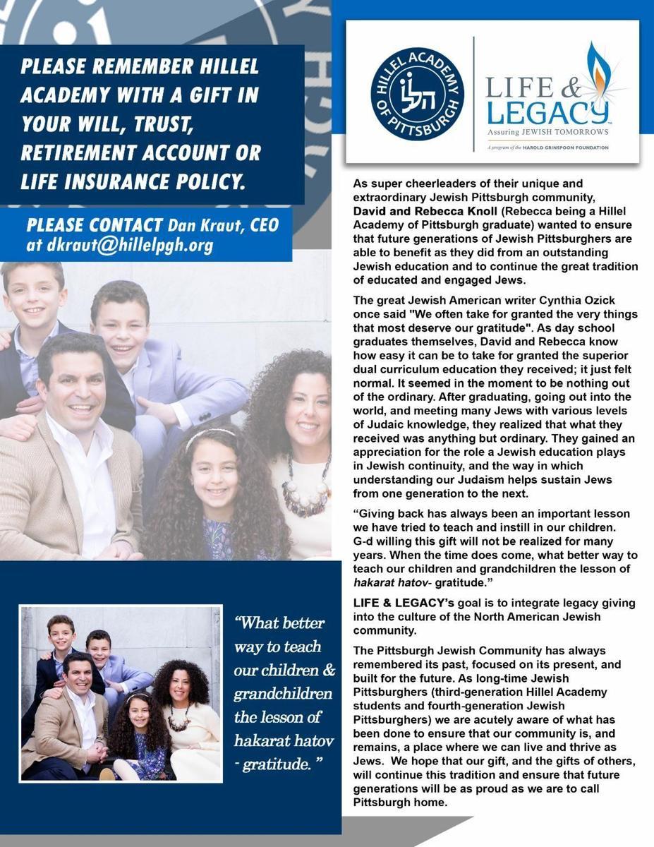 Life and Legacy Spotlight