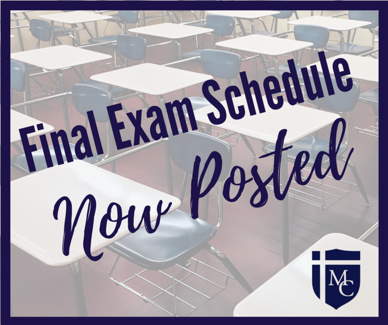 Final Exam Schedule Thumbnail Image