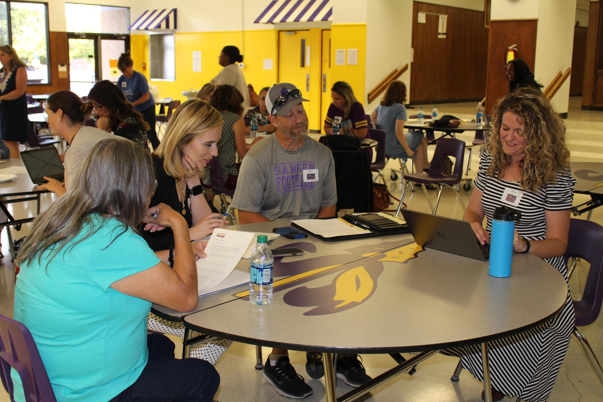 The community discusses their vision for the future of Pre K in Sanger