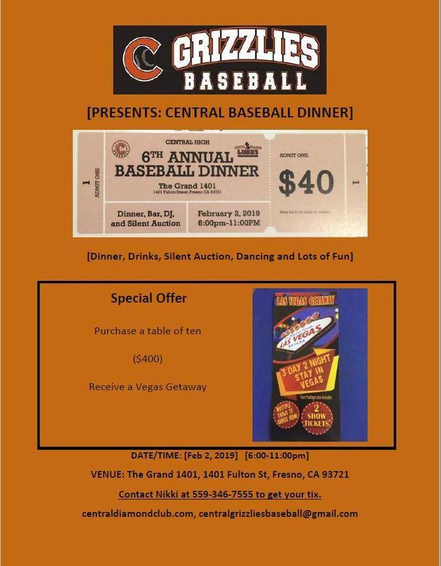 Annual Baseball Dinner