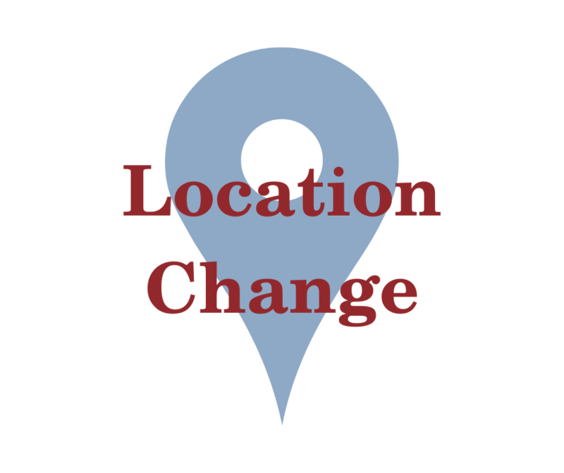 map pin and location change