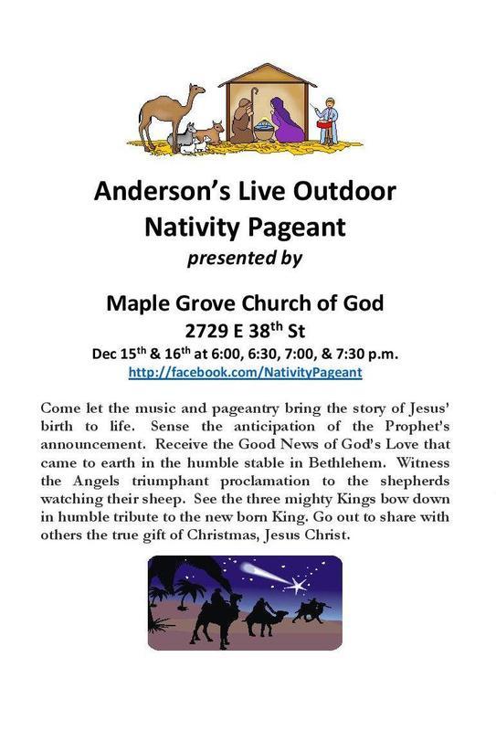 Live Nativity Pageant Thumbnail Image