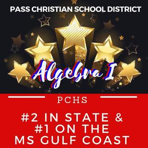PCSD Alg I Number 2 in state and Number 1 on the Coast
