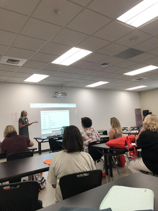 Ms. Dutton Presents at Teacher Bootcamp! Featured Photo