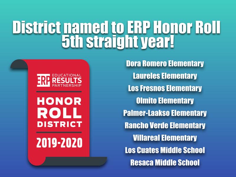 ERP Honor Roll