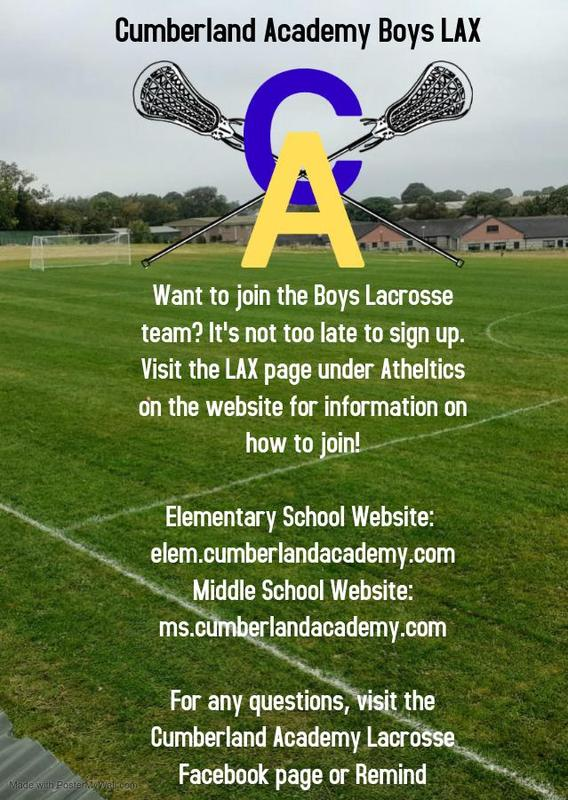 Sign Up For CAMS Boys Lacrosse Featured Photo