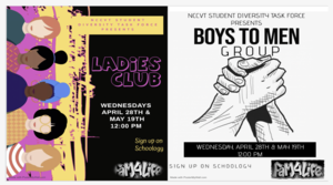Ladies Club and Boys to Men Group
