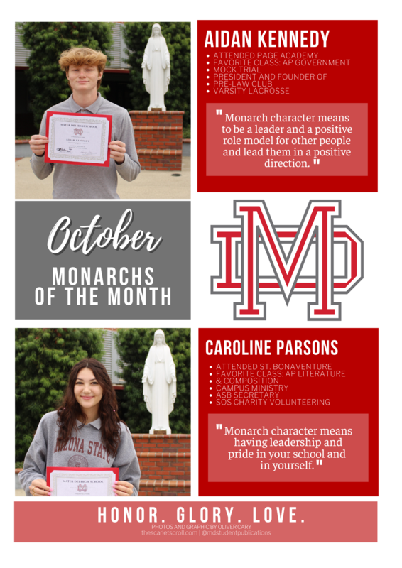 October Monarchs of the Month Featured Photo