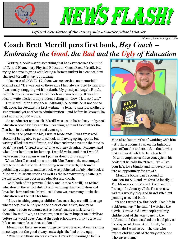 Brett Merrill and his book