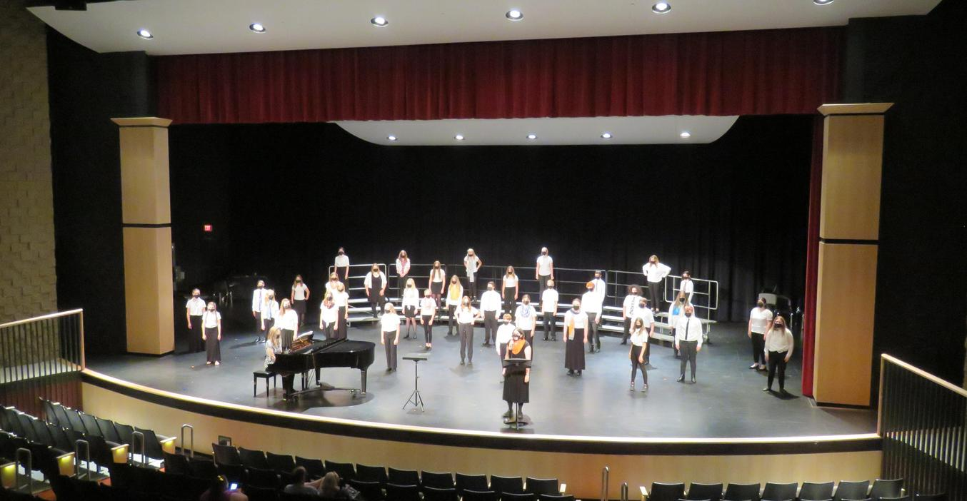 MS choirs perform their spring concerts.