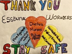 Thank You stay safe