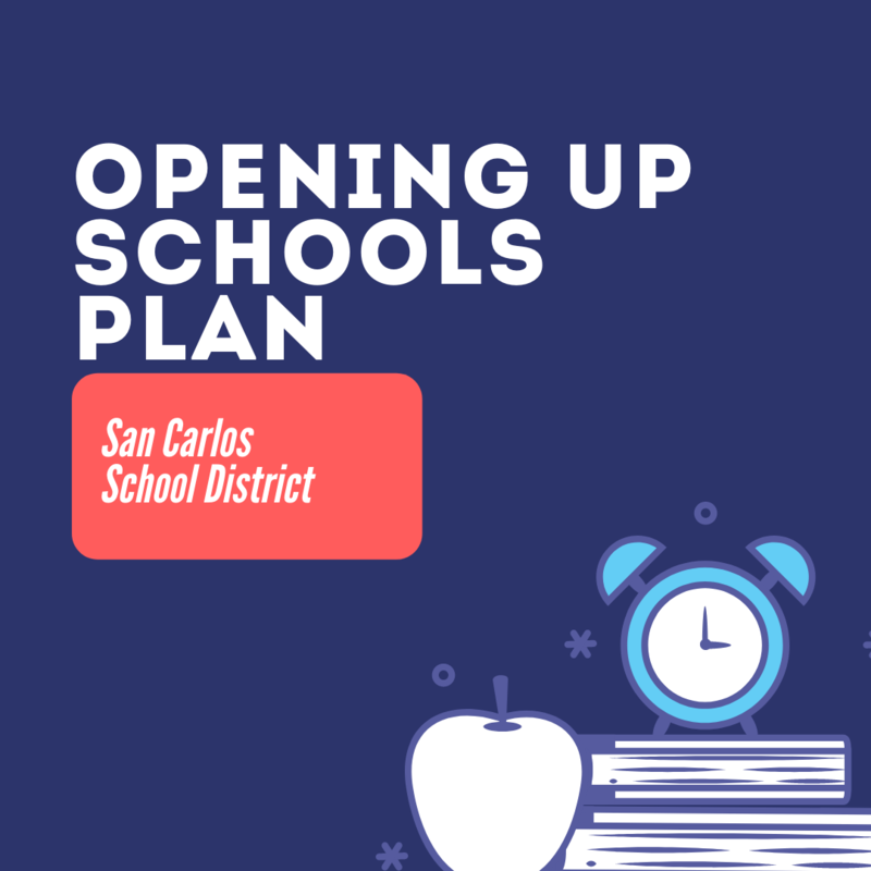 Opening Up Schools Plan Logo