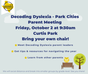 DECODING DYSLEXIA PARENT MEETING Featured Photo